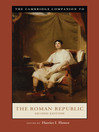 The Cambridge Companion to the Roman Republic (eBook)