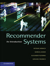 Recommender Systems (eBook)