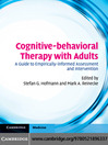Cognitive-behavioral Therapy with Adults (eBook)