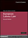 European Labour Law (eBook)