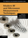 Modern RF and Microwave Measurement Techniques (eBook)