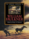 The Cambridge Companion to William Faulkner (eBook)