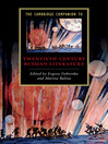 The Cambridge Companion to Twentieth-Century Russian Literature (eBook)