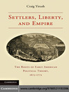 Settlers, Liberty, and Empire (eBook)