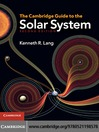The Cambridge Guide to the Solar System (eBook)