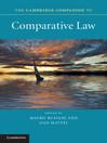 The Cambridge Companion to Comparative Law (eBook)
