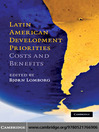 Latin American Development Priorities (eBook): Costs and Benefits