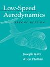Low-Speed Aerodynamics (eBook)