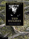 The Cambridge Companion to Ted Hughes (eBook)