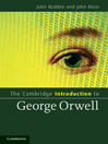 The Cambridge Introduction to George Orwell (eBook)