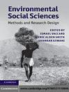 Environmental Social Sciences (eBook)