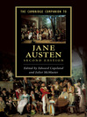 The Cambridge Companion to Jane Austen (eBook)
