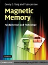 Magnetic Memory (eBook): Fundamentals and Technology