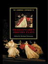 The Cambridge Companion to Shakespeare's History Plays (eBook)