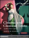 Cinema and Classical Texts (eBook): Apollo's New Light