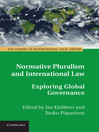 Normative Pluralism and International Law (eBook)
