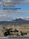Cosmogenic Nuclides (eBook): Principles, Concepts and Applications in the Earth Surface Sciences