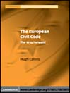 The European Civil Code (eBook): The Way Forward