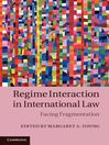 Regime Interaction in International Law (eBook)
