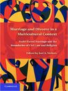 Marriage and Divorce in a Multicultural Context (eBook): Multi-Tiered Marriage and the Boundaries of Civil Law and Religion