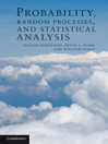 Probability, Random Processes, and Statistical Analysis (eBook): Applications to Communications, Signal Processing, Queueing Theory and Mathematical Finance