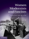 Women Modernists and Fascism (eBook)
