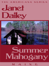 Summer Mahogany eBook