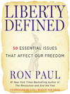 Liberty Defined (MP3): 50 Essential Issues that Affect Our Freedom