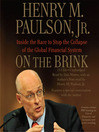 On the Brink (MP3): Inside the Race to Stop the Collapse of the Global Financial System