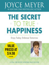 The Secret to True Happiness (MP3)