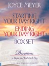 Starting Your Day Right/Ending Your Day Right Box Set (MP3)