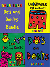 Todd Parr's Do's and Don'ts Bundle (MP3): Including: Zoo Do's and Don'ts, Underwear Do's and Don'ts, and Do's and Don'ts