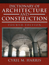 Dictionary of Architecture and Construction (eBook)