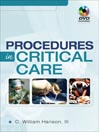 Procedures in Critical Care (eBook)