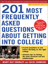 201 Most Frequently Asked Questions about Getting into College eBook