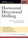 Horizontal Directional Drilling (eBook): Utility and Pipeline Applications