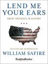 Lend Me Your Ears (eBook): Great Speeches in History