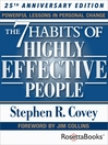 The 7 habits of highly effective people [eBook]