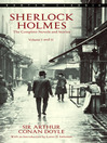 Sherlock Holmes (eBook): The Complete Novels and Stories, Volumes I and II