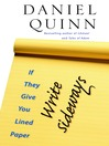 If They Give You Lined Paper, Write Sideways (eBook)