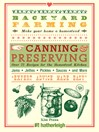 Canning & Preserving: Over 75 Recipes for the Homestead Kitchen (eBook)