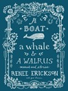 A Boat, a Whale & a Walrus (eBook): Menus and Stories