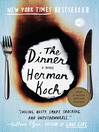 book jacket for The Dinner