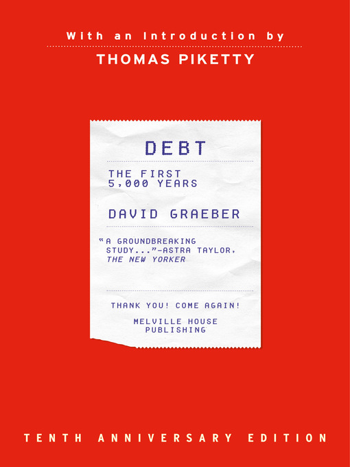 Debt (eBook): The First 5,000 Years