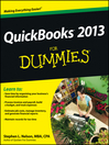 QuickBooks 2013 For Dummies (eBook)