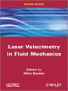 Laser Velocimetry in Fluid Mechanics (eBook)