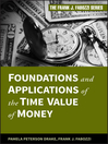 Foundations and Applications of the Time Value of Money (eBook)