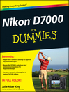 Nikon D7000 For Dummies (eBook)
