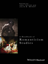 A Handbook of Romanticism Studies (eBook)