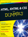 HTML, XHTML & CSS For Dummies (eBook)